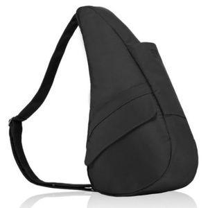 AmeriBag Microfiber Healthy Back Bag - Black